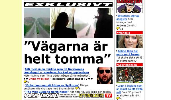 Vice-tv på Aftonbladet.se.